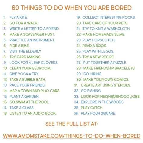 60 things to do when you re bored madetolastwm a s take
