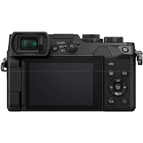 Panasonic Lumix Gx8 Mirrorless 4k panasonic lumix gx8 mirrorless micro 4 3 black only backscatter