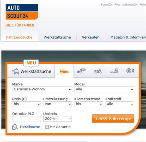 Autoscout It 24 by Autoscout24 Wohnmobile