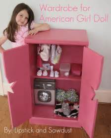 lipstick and sawdust wardrobe for american doll