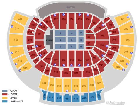 philips arena floor plan seating charts philips arena