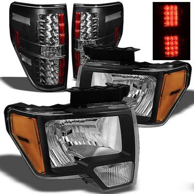 2013 f150 tail lights 2013 ford f150 black headlights and led tail lights
