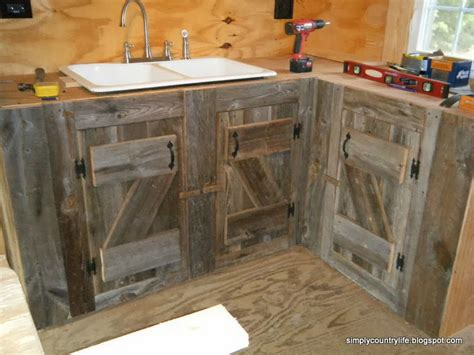diy building kitchen cabinets 20 things you can build with reclaimed wood