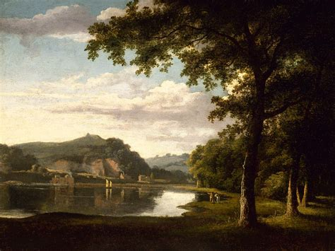 Landscape View Photos File Landscape With View On The River Wye By Jones Jpg