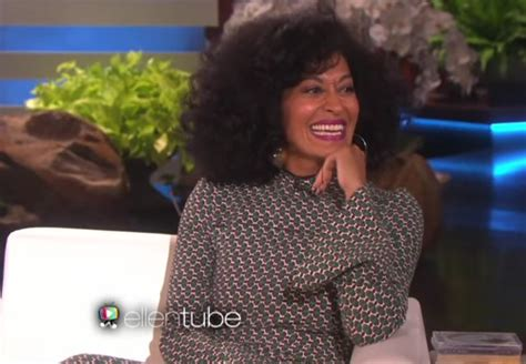 tracee ellis ross interviews tracee ellis ross visits the ellen show for the first