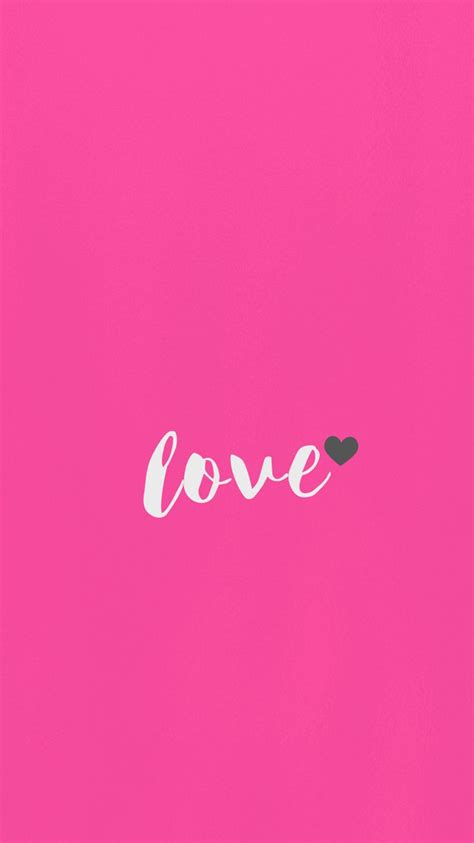 love wallpaper iphone  android samsung minimal
