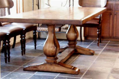 How To Build A Trestle Dining Table Plans To Build How To Build A Trestle Table Pdf Plans