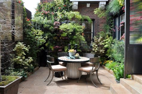 paved courtyard garden ideas patio with