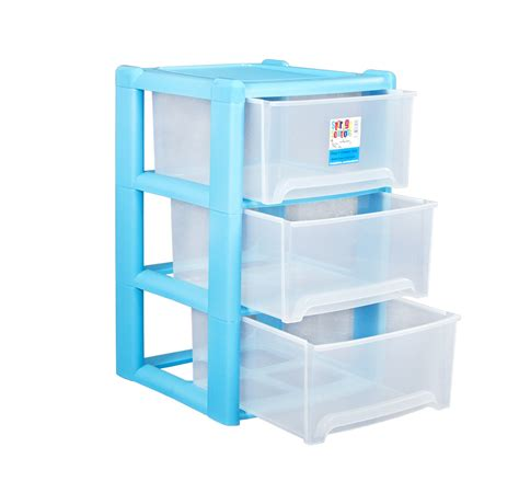 3 Drawer Plastic Storage Unit Wham Plastic 3 Drawer A4 Tower Storage Unit Rear
