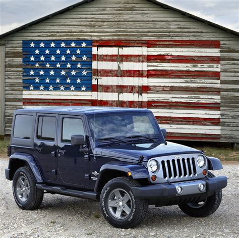Jeep Wrangler Patriot Edition Jeep Wrangler Freedom Edition Launched Autoevolution