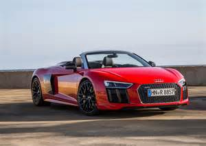 new 2017 audi r8 v10 spyder arrives in the us from 175 100