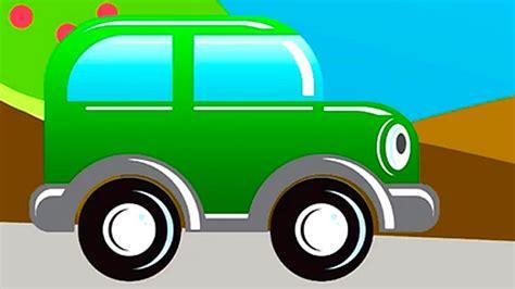 Autofahren F R Kinder by Zeichentrickfilm Das Clevere Auto Geometrische Figuren