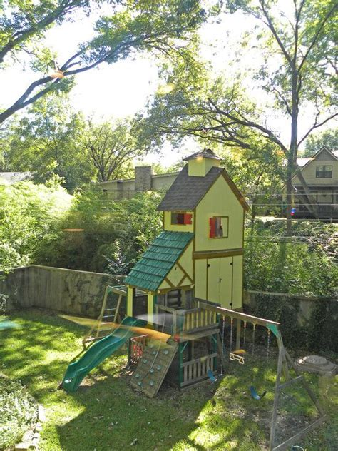elevated playhouse designs plans woodworking projects