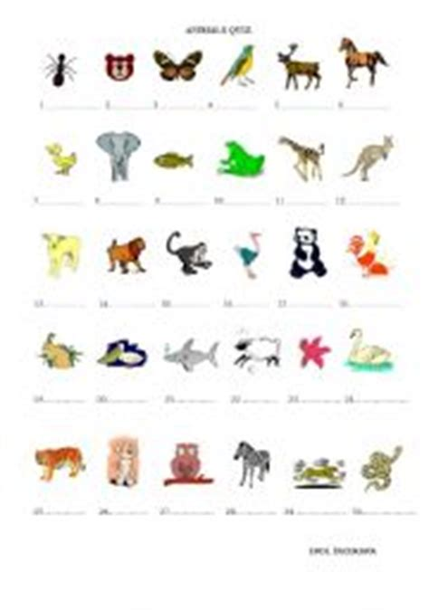 easy printable animal trivia animal quiz worksheet by imparator