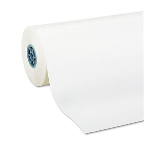 White Craft Paper Roll - pacon kraft paper roll 24 x 1000 40 lb 100percent recycled