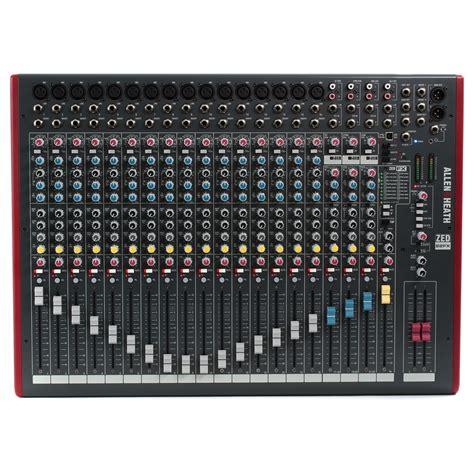 Mixer Allen Heath Zed 1200 Fx allen heath zed 22fx usb mixer stereo a gear4music