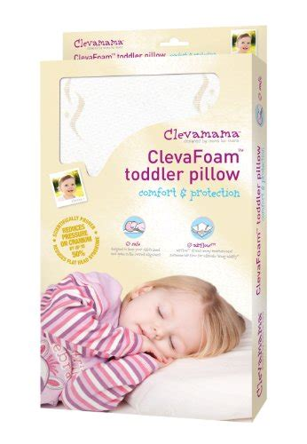 Where To Buy Toddler Pillows by Coolukdeal Wiki Buy Clevamama 7209 Clevafoam Toddler