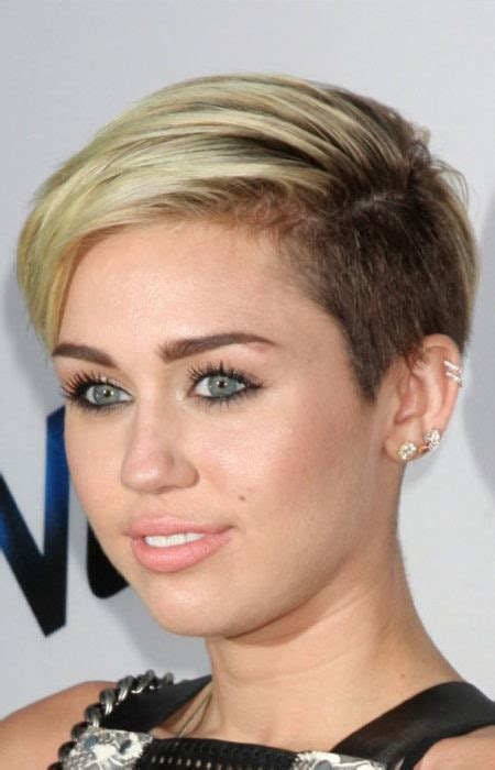what is the name of miley cryus hair cut hottest hollywood stars with undercut haircuts 2017