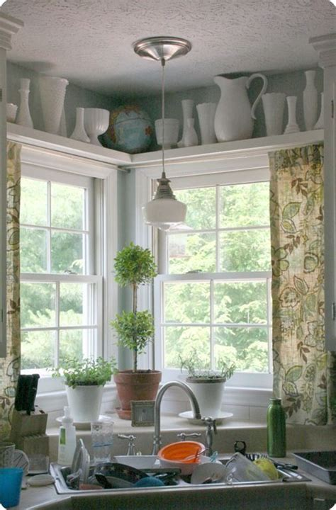 light over kitchen sink window corner plans breakfast nook 55 best corner kitchen windows images on pinterest