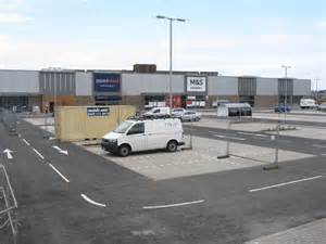 new car park edinburgh new retail park at chesser 169 m j richardson cc by sa 2 0