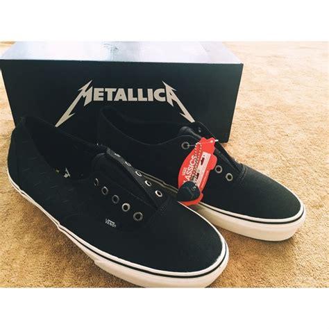 Vans Era Metallica vans vans x metallica lars ulrich era laceless from