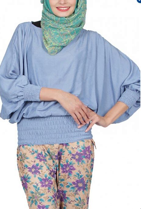 Baju Muslim Ibu 9 Bulan model baju muslim atasan untuk ibu terbaru 2015