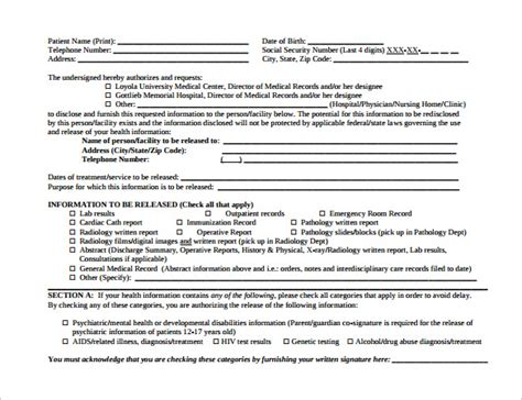 hospital release form template pin hospital release form template on