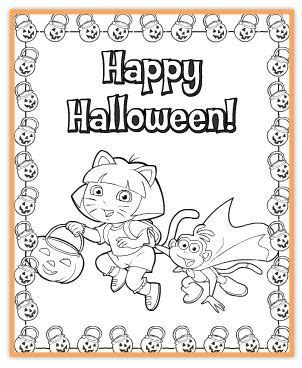 hallmark coloring pages halloween link to free nick jr halloween printables halloween