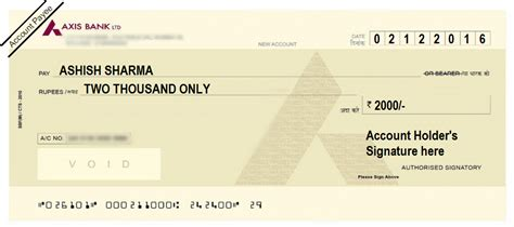axis bank account no how to write a cheque in axis bank self account payee