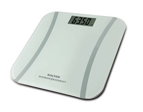 salter ultimate accuracy digital bathroom scales white