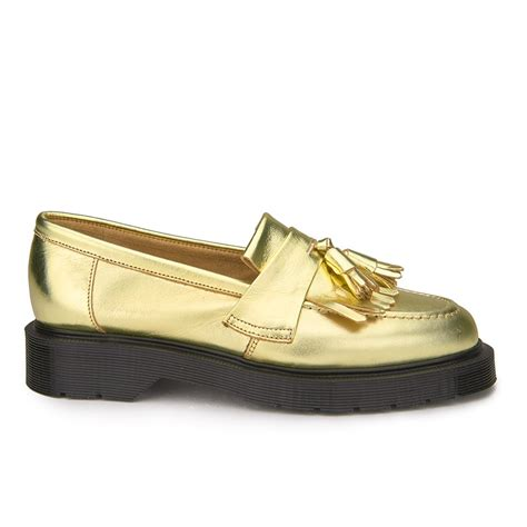 armani exchange loafers ymc s solovair leather tassel loafers gold leather