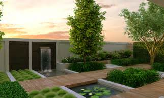 contemporary backyard modern garden design modern magazin