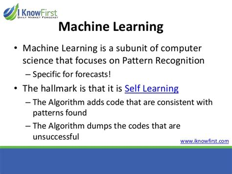 pattern recognition and machine learning source code algo trading for the individual investor