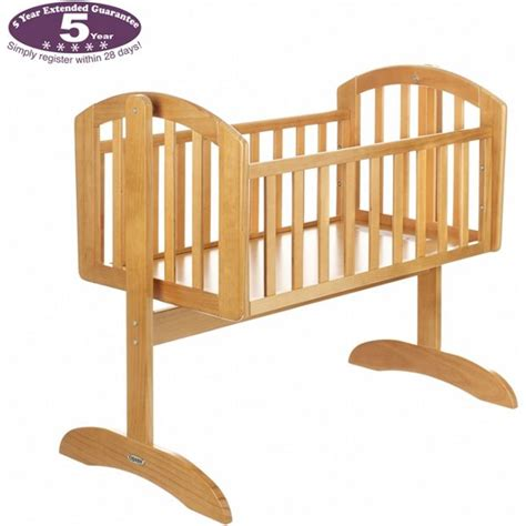 obaby sophie swinging crib buy obaby sophie swinging crib country pine at argos co