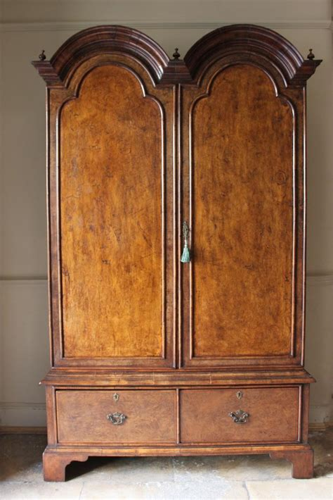 armoire in english 1930s english country house walnut armoire in the queen anne taste furniture