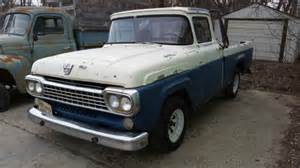 58 Ford Truck by Vintage 1958 58 Ford F100 F 100 Shortbox Truck