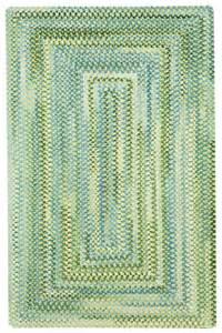 yellow waterway braided chenille rug cottage home 174