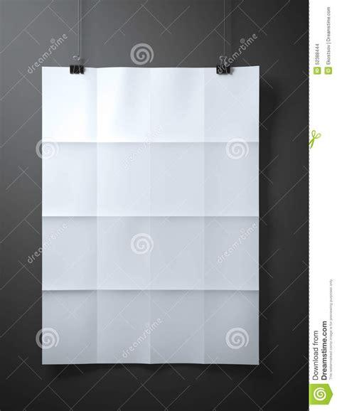 Folded Sheet Of Paper - white folded sheet of paper stock photo image 52388444