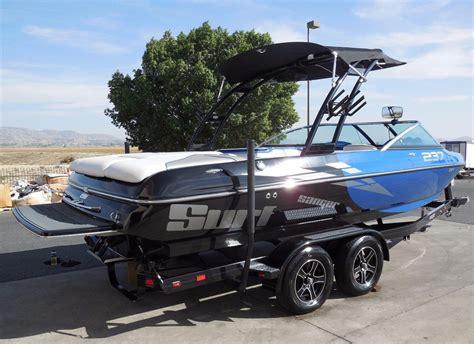 wakeboard boats for sale ca 2016 used sanger v237 surf ski and wakeboard boat for sale