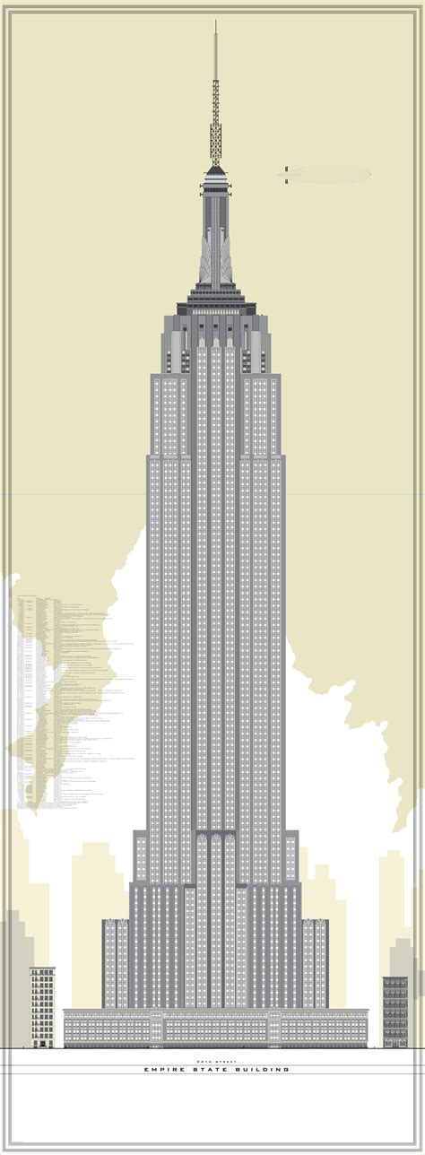 picture height empire state building silhouette tattoo www pixshark com