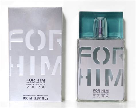 Parfum Zara For Him zara for him silver zara cologne a fragrance for
