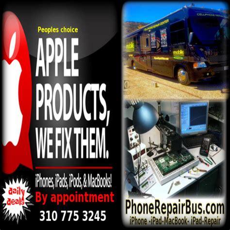 ipad repair services mobile repair bus iphone screen