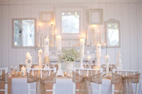 Burlap Wedding Table Decorations by Burlap Wedding Inspiration Ideas Rustic Wedding Chic
