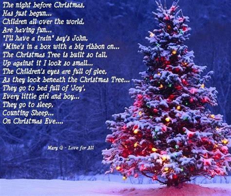 christmas   inspirational poems christmas christmas tree