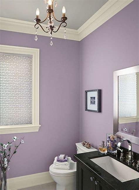 lavender and grey bathroom