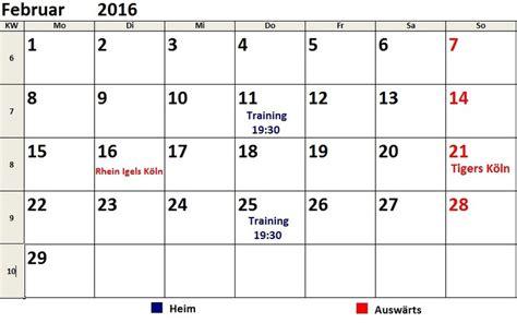kalender ictigers solingen