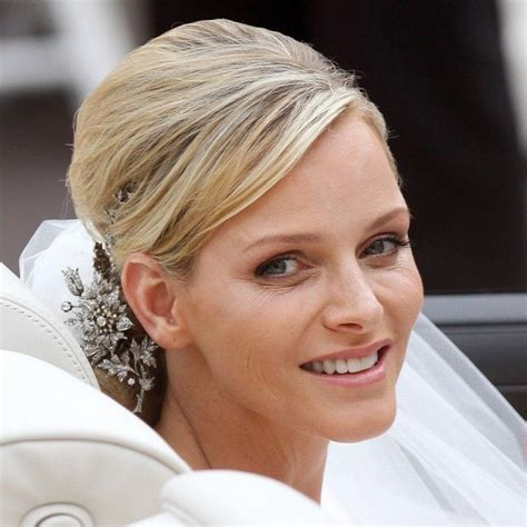 princess charlene wedding hair 185 best images about princess charlene of monaco on