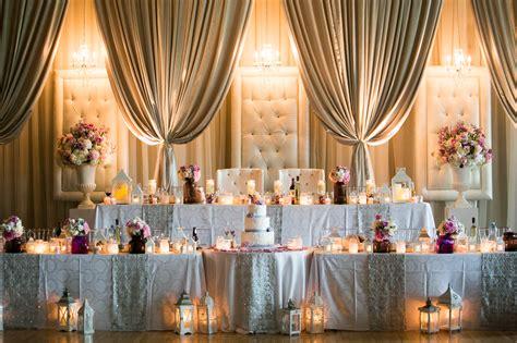 wedding head table wedding head table and decor jeremy clay photography