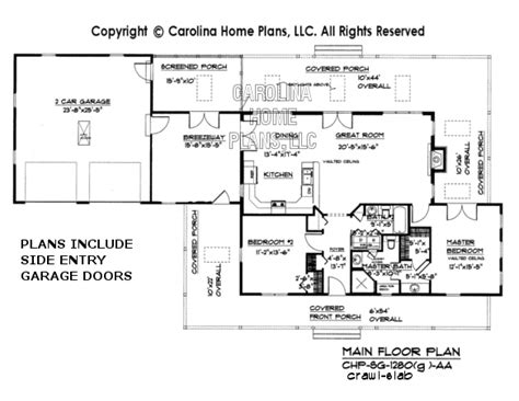 slab floor plans small country cottage house plan sg 1280 aa sq ft