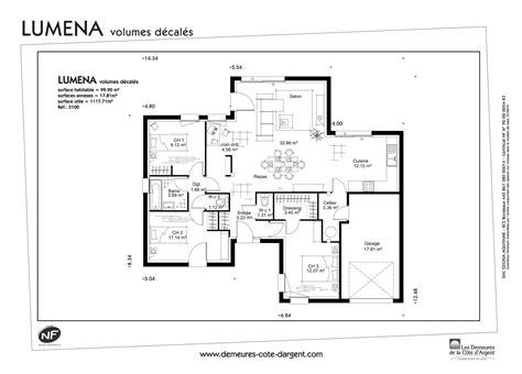 plan pavillon 100m2 plan maison etage 100m2 7 plan maison cubique plain